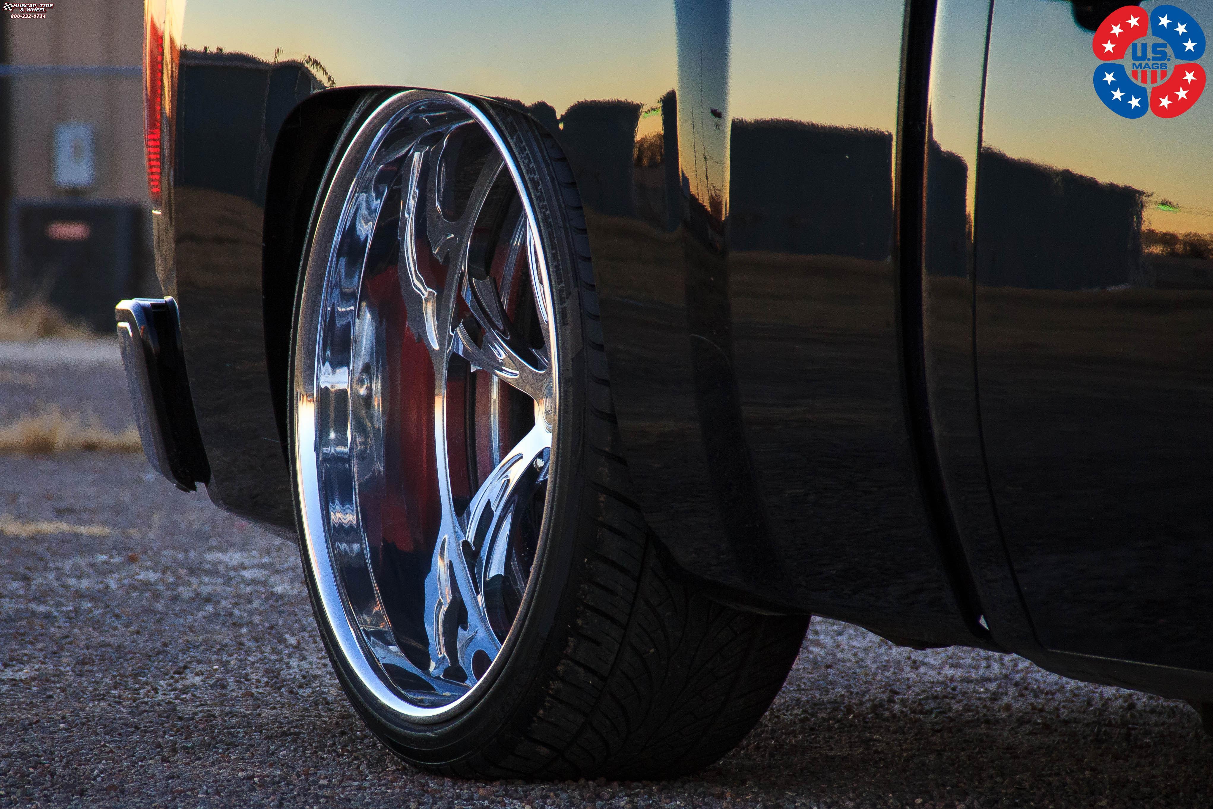 Chevrolet Silverado 1500 US Mags Cartel 6-U454 Wheels Polished