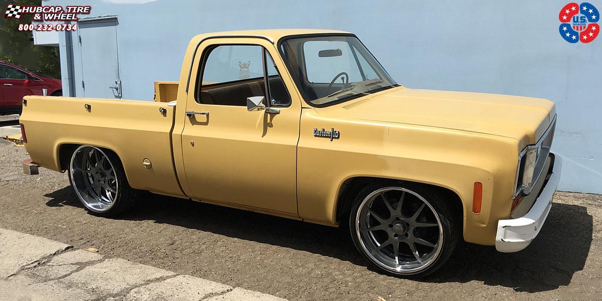 Chevrolet C-10 US Mags PT.1-U701 Wheels Matte Gunmetal ...