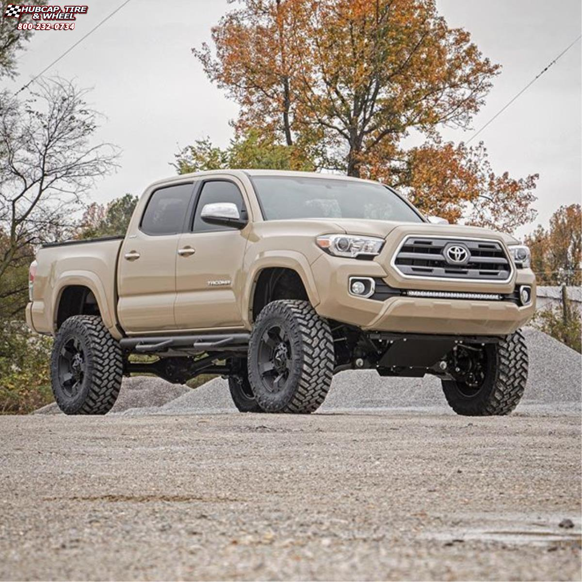 toyota tacoma xd series xd811 rockstar 2 wheels. Black Bedroom Furniture Sets. Home Design Ideas