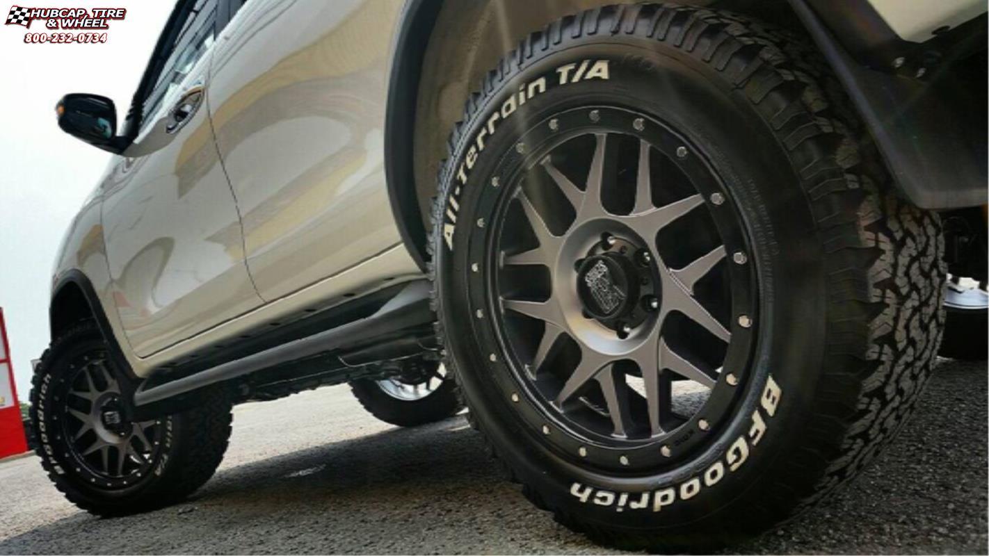Toyota Fortuner XD Series XD127 Bully Wheels Matte Gray ...