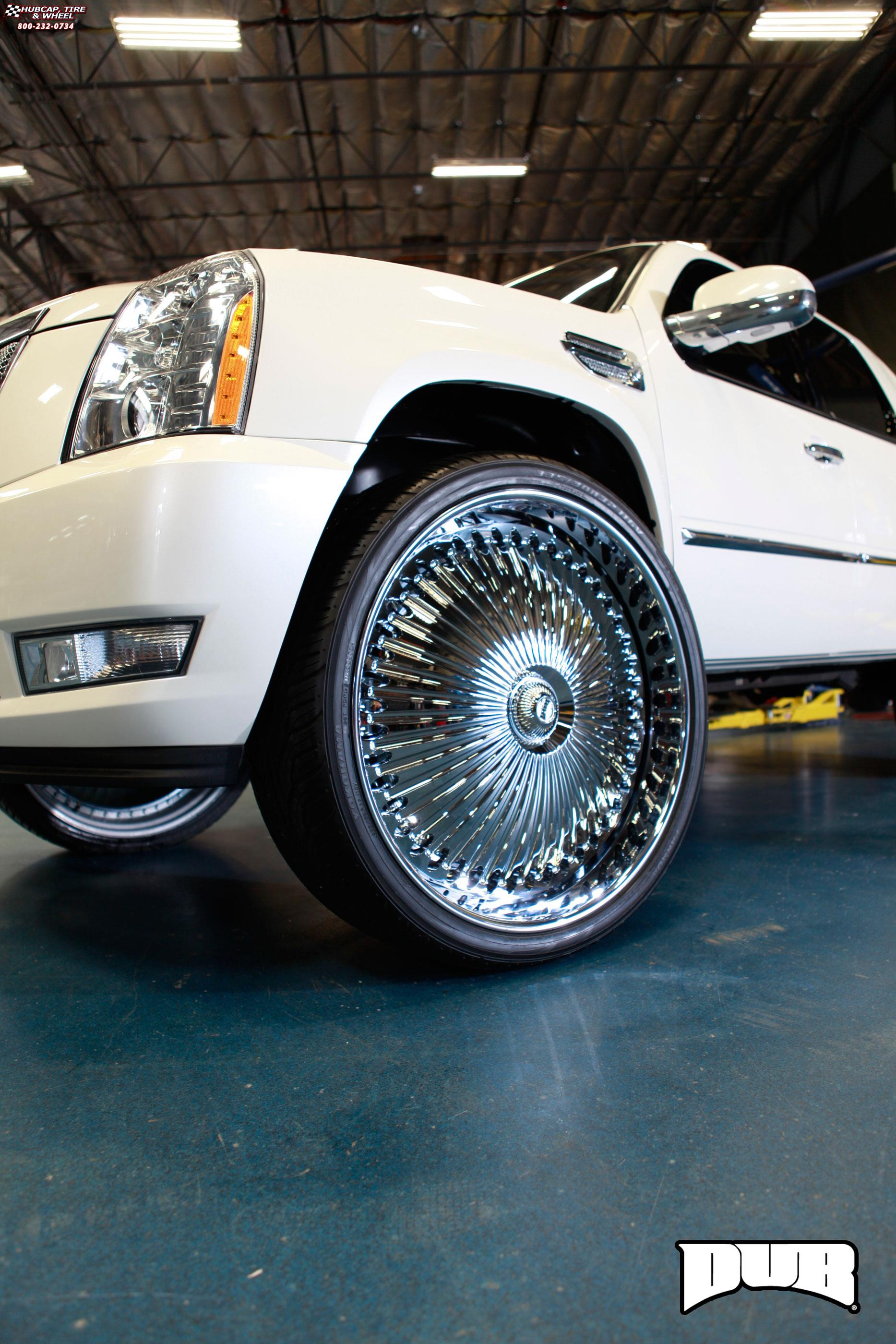 Cadillac Escalade Dub S777 - Bellagio Wheels Chrome
