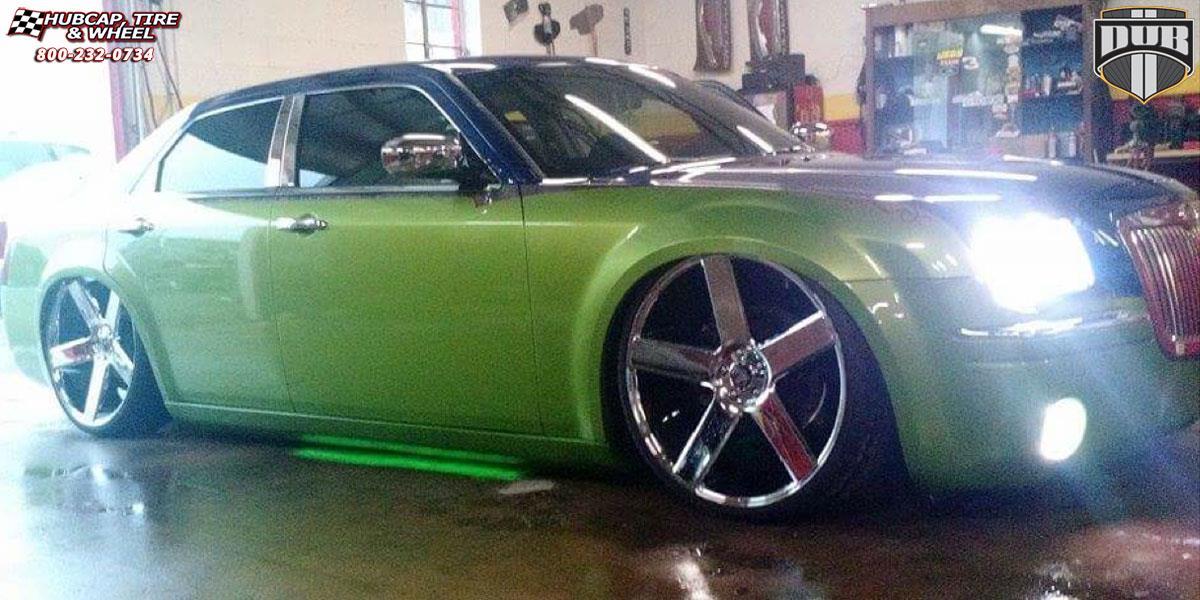 Chrysler 300c Dub Baller S115 Wheels Chrome