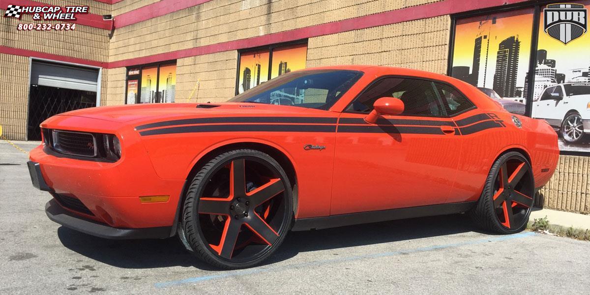 Dodge Challenger Dub Baller S116 Wheels Black Amp Machined