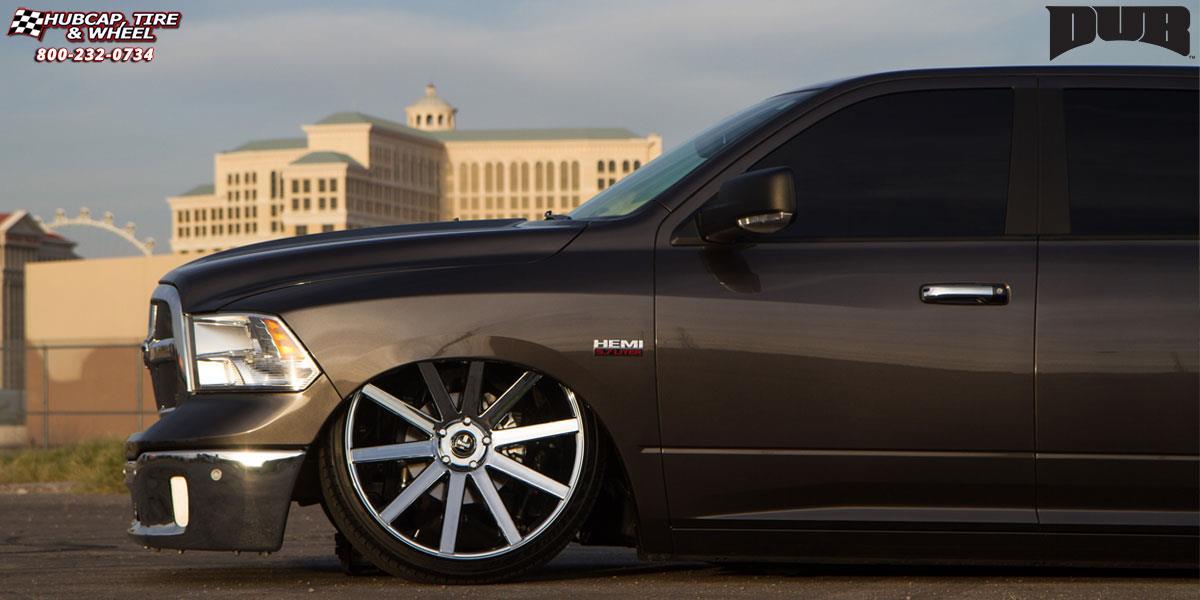 Dodge Ram 1500 Dub Shot Calla - S120 Wheels Chrome | 1200 x 600 jpeg 70kB