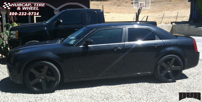 Chrysler 300c Dub Baller S116 Wheels Black Amp Machined