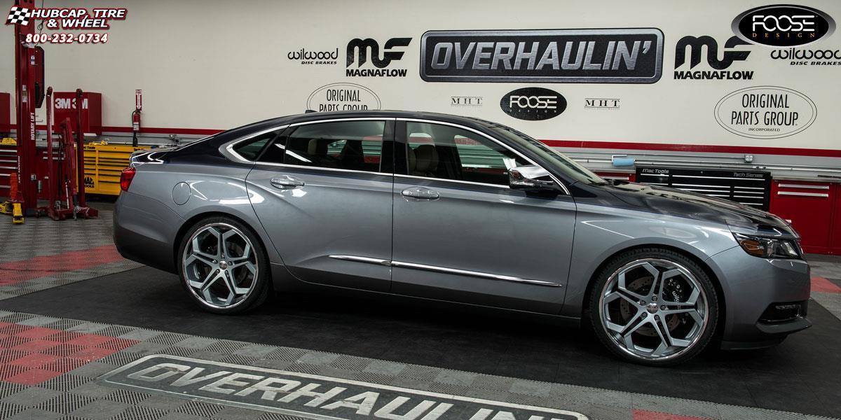 2015 Chevrolet Impala Foose Impala F229 Concave Wheels