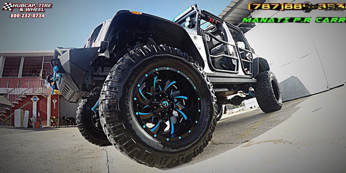 Jeep Wrangler Fuel Cleaver D239 Wheels Gloss Black & Milled