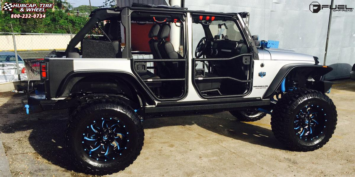 Jeep Wrangler Fuel Cleaver D239 Wheels Gloss Black Amp Milled