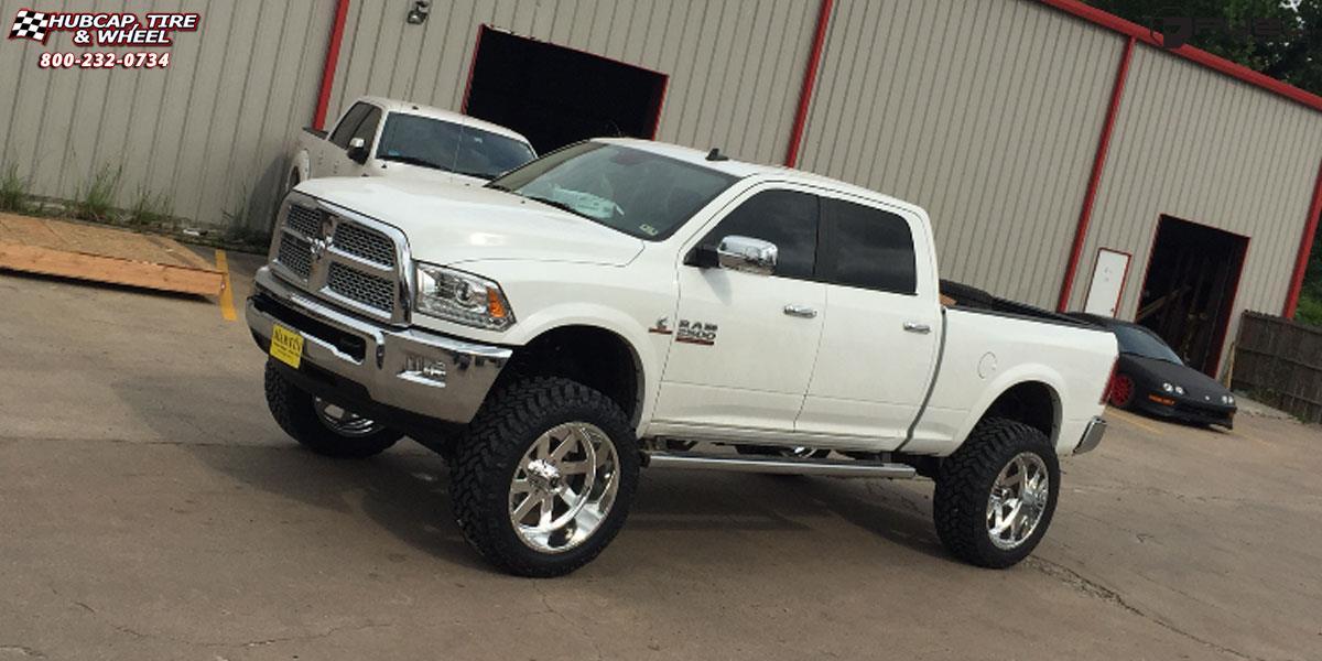 Dodge Ram 2500 Fuel Forged Ff02 Wheels Polished Or Custom
