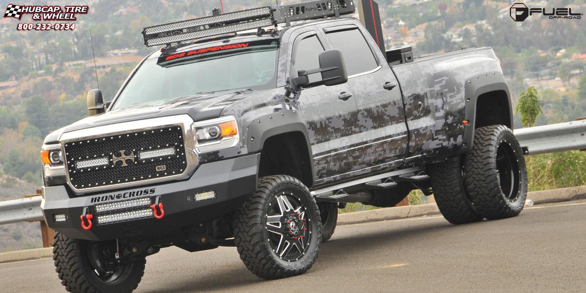 Silverado Black Ops >> Chevrolet Silverado 3500 Dually Fuel Full Blown Dually Front D254 Wheels Custom