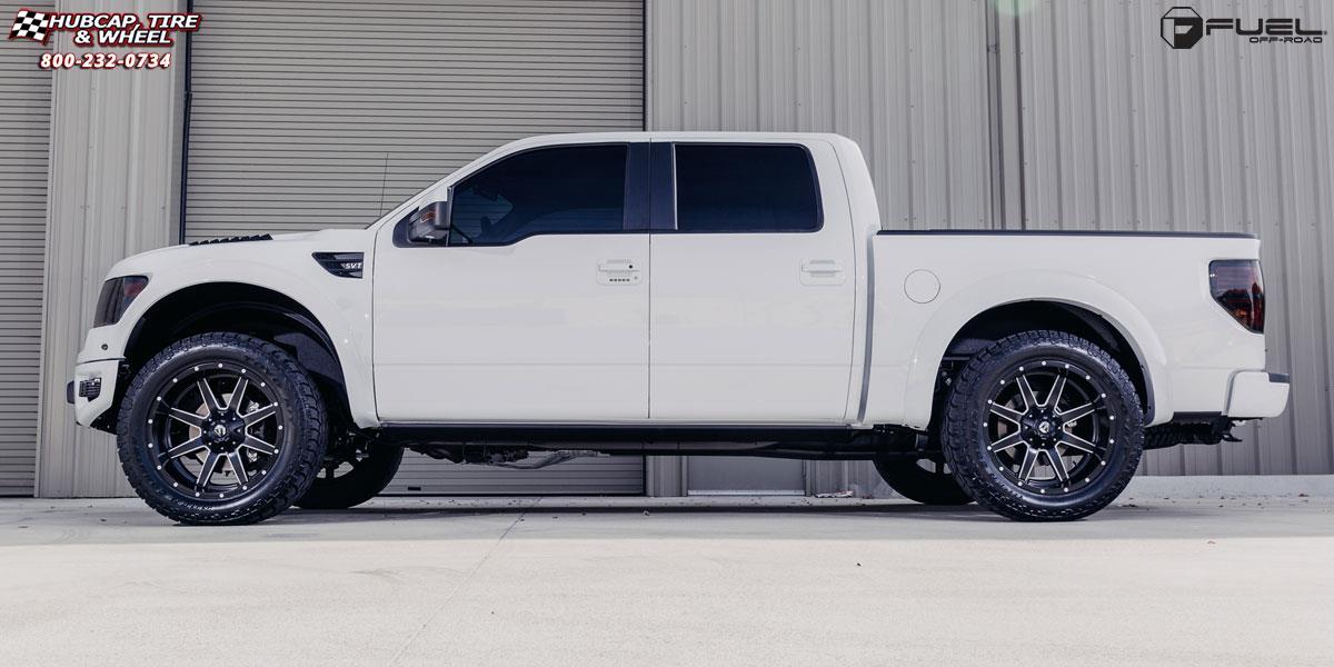 Ford F150 Bed Size >> Ford F-150 Fuel Maverick D538 Wheels Black & Milled