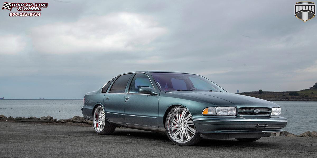 Chevrolet Impala Dub XB10 - Statica Wheels Brushed and ...