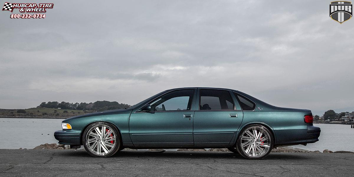 Chevrolet Impala Dub Xb10 Statica Wheels Brushed And