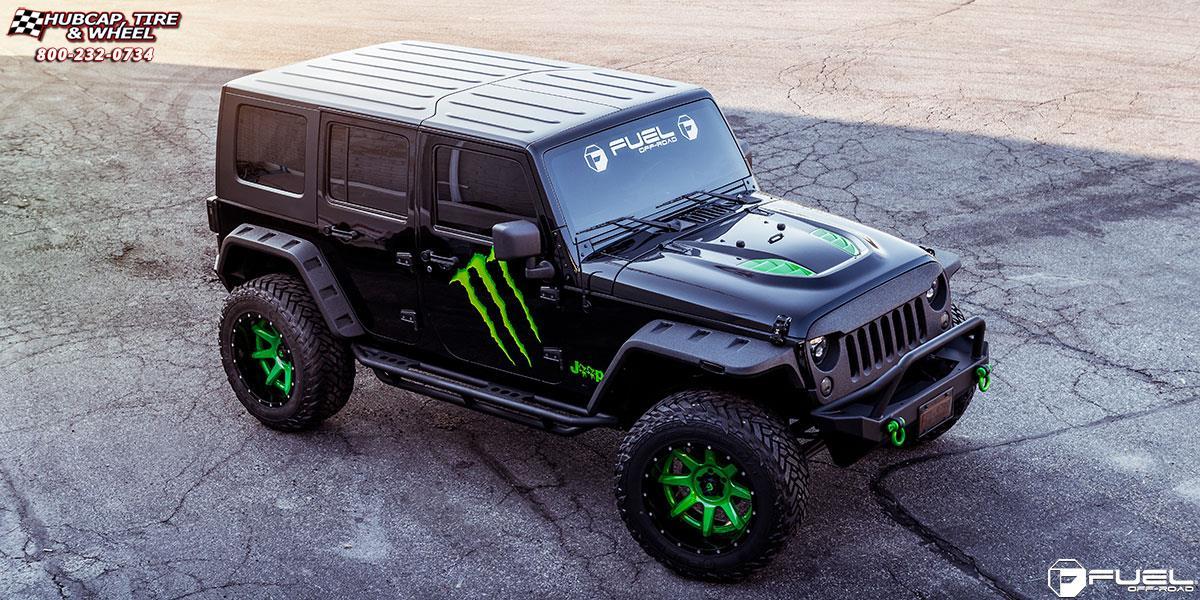 Jeep Wrangler Fuel Rampage D238 Wheels
