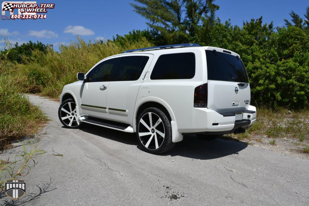 Nissan Armada 2020 >> Nissan Armada Dub Directa - S133 Wheels Black & Milled