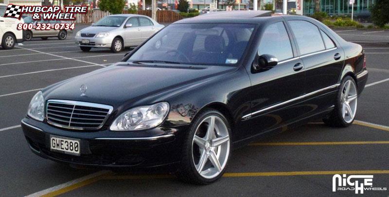 Mercedes benz s class niche apex m125 wheels silver for Mercedes benz apex