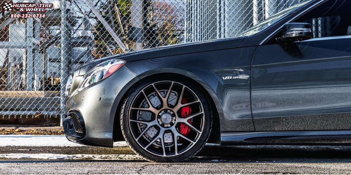 Mercedes benz e63 niche intake m159 wheels black for Mercedes benz wheel and tire protection