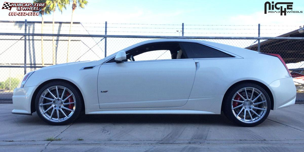 Cadillac Cts Niche Surge Wheels Brushed Face Hi Luster