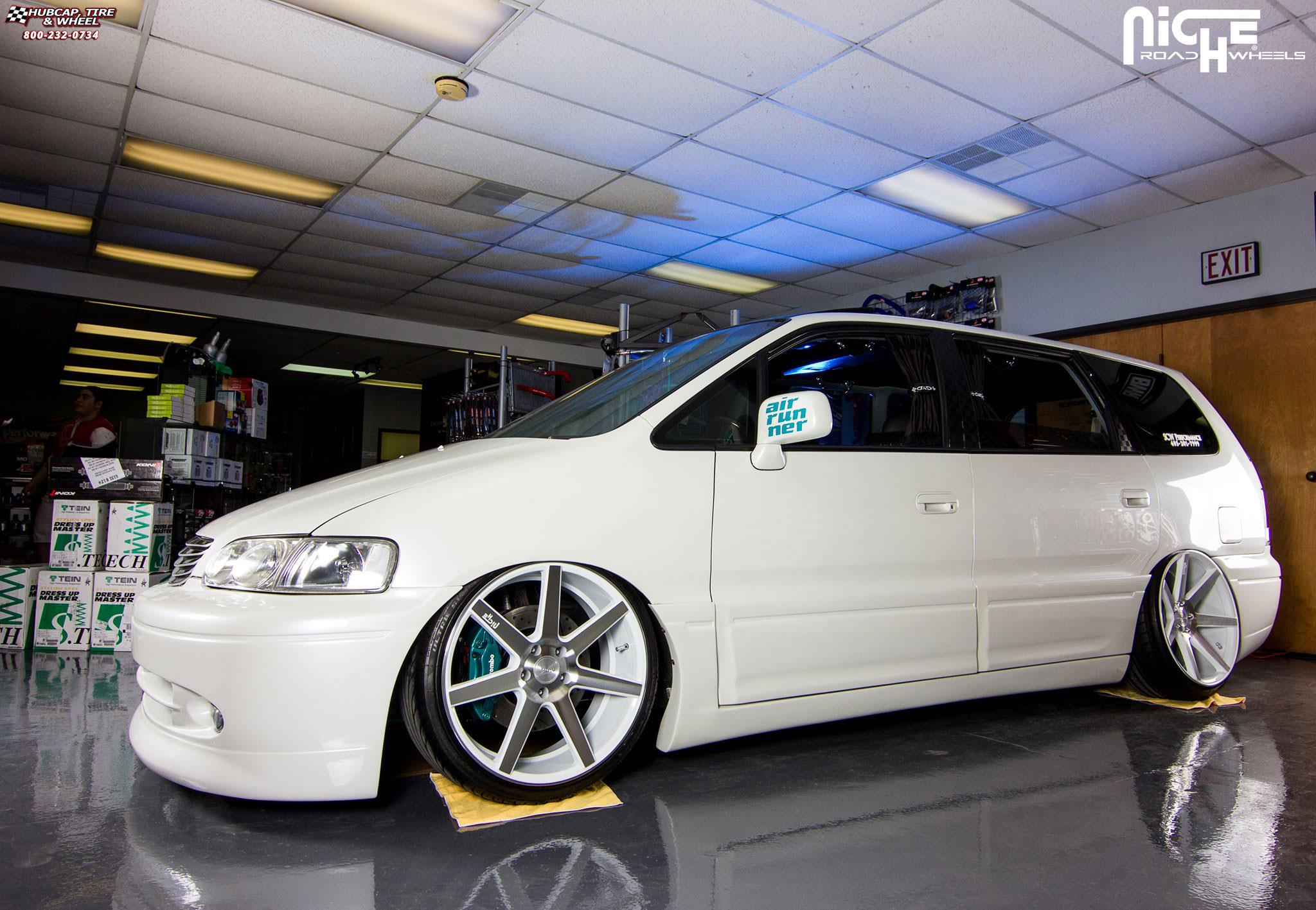 Honda Odyssey Niche Verona M151 Wheels Gloss White