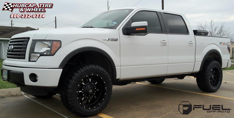 2006 Ford F150 Rims And Tires >> Ford F-150 Fuel Krank D517 Wheels Matte Black & Milled