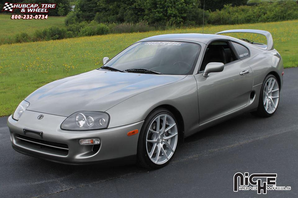 22 Inch Rim And Tire Package >> Toyota Supra Niche Targa - M131 Wheels Silver & Machined