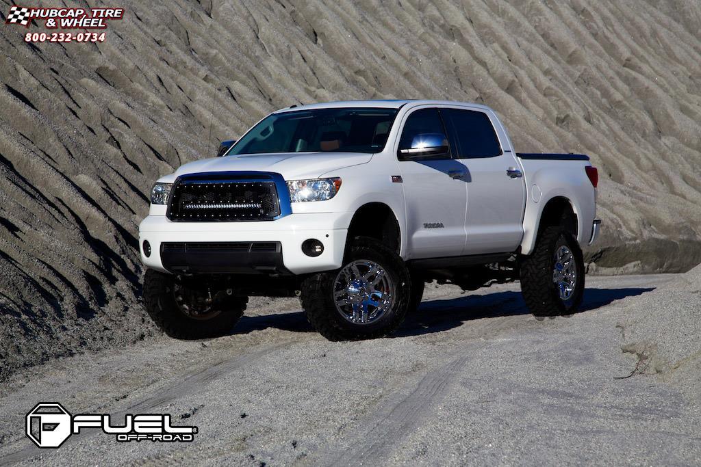 Toyota Tundra Fuel Pump D514 Wheels Chrome
