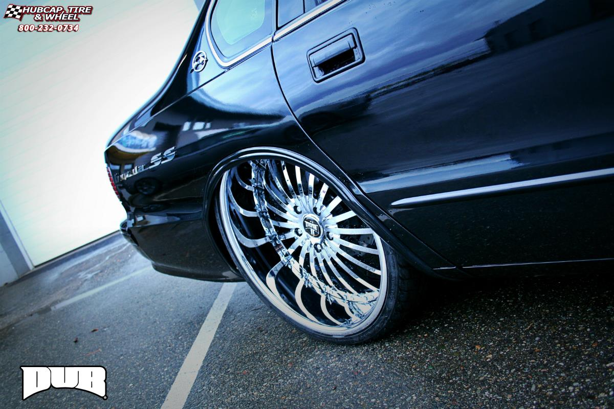 Chevrolet Impala Dub C21 Rhyme Wheels Chrome