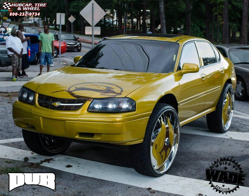 Chevrolet Impala Dub S604-Nocturnus Wheels Chrome