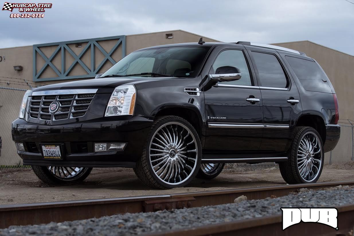 Cadillac Escalade Dub Suave S140 Wheels Chrome