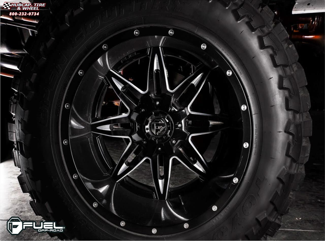 Ford F 350 Super Duty Fuel Lethal D267 Wheels Black