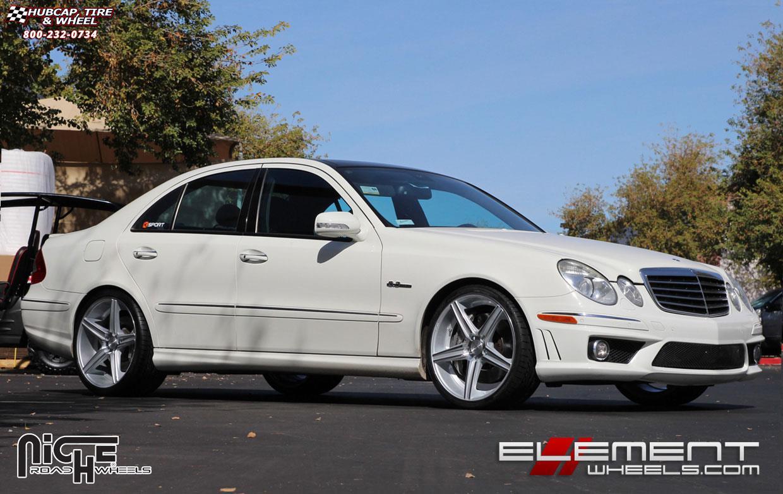 Mercedes benz e63 niche apex m125 wheels silver machined for Mercedes benz apex