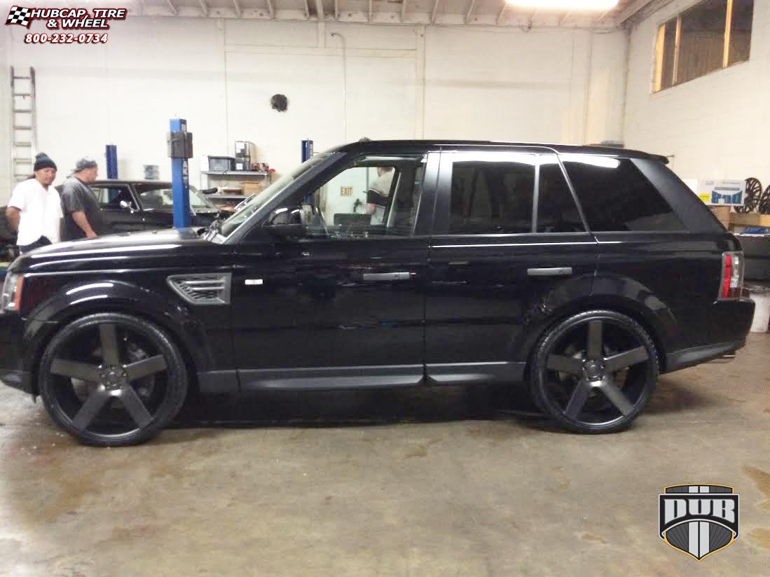 Land Rover Range Rover Sport Dub Baller  S116 Wheels Black