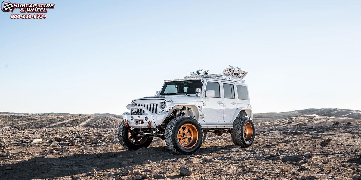 Jeep Wrangler Fuel Forged Ff15 Wheels Brushed Gloss