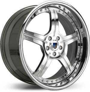 Asanti AF 118  Wheels Chrome