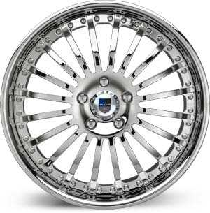 Asanti AF 122  Wheels Chrome