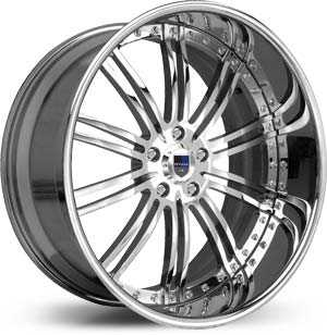 Asanti AF 128  Wheels Chrome
