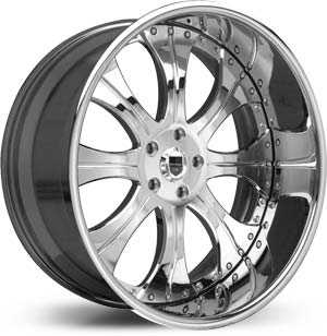Asanti AF 131  Wheels Chrome