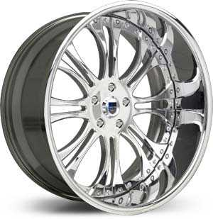 Asanti AF 132  Wheels Chrome