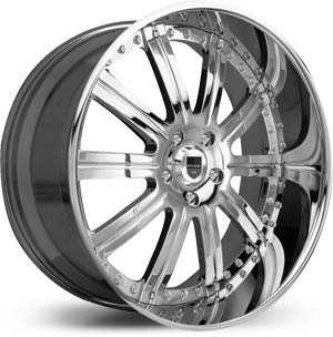 Asanti AF 134  Wheels Chrome