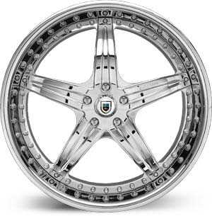 Asanti AF 144  Wheels Chrome