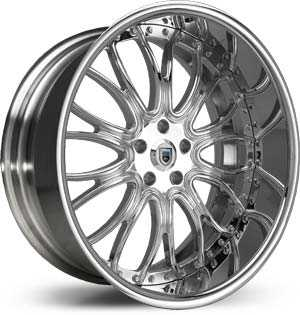Asanti AF 145  Wheels Chrome