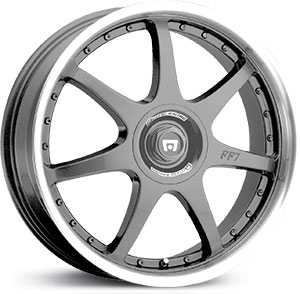 Motegi Racing FF7 Silver/Grey/Gunmetal