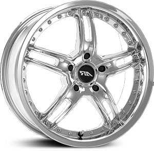 15x7 American Racing Santa Cruz AR371 Chrome HPO