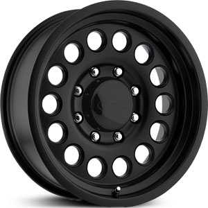 15x8 Eagle Alloy 100 Black REV