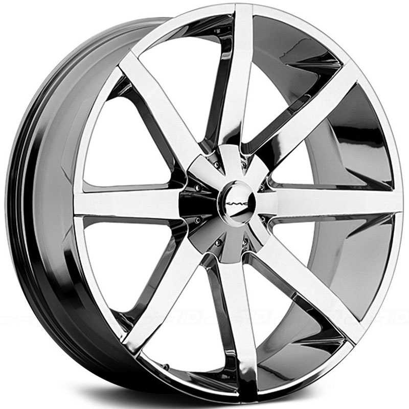 KMC 651 Slide  Wheels Chrome