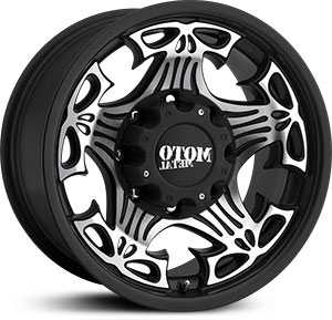18x9 Moto Metal Skull Gloss Black Machined Face Mid Wheels And Rims