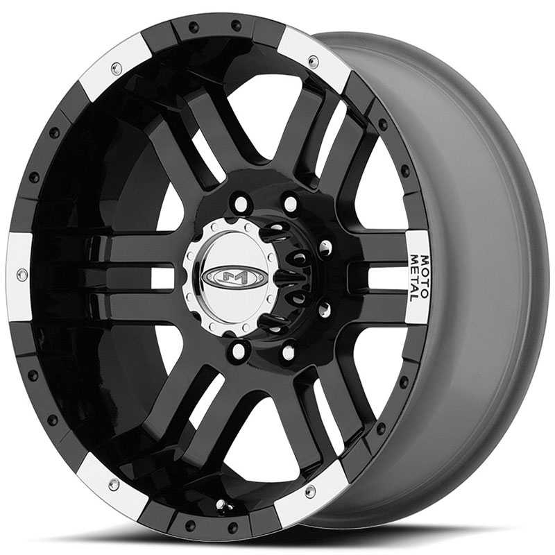 Moto Metal MO951  Wheels Gloss Black / Machined Lip