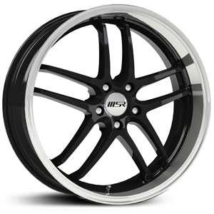 MSR 085  Wheels Super Finish Black