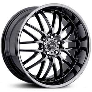 MSR 093  Wheels Hyper Black