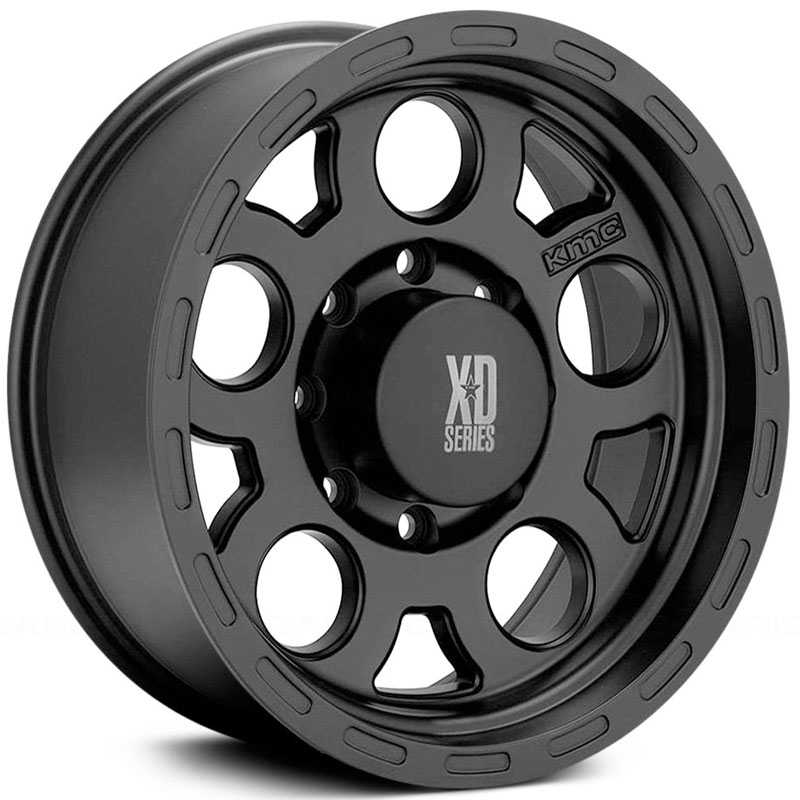 122 XD Series Enduro Matte Black